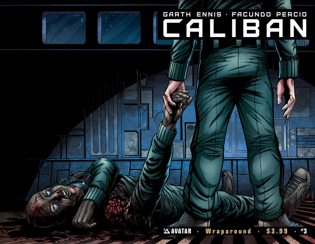 CALIBAN #3 Wraparound