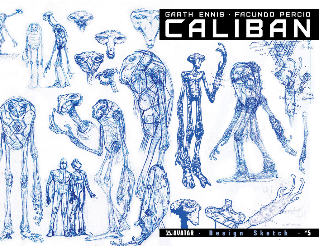 CALIBAN #5 Design Sketch