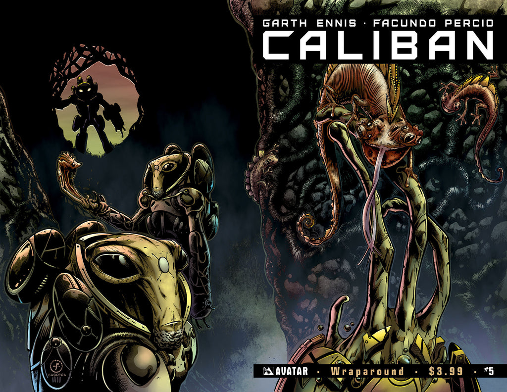 CALIBAN #5 Wraparound