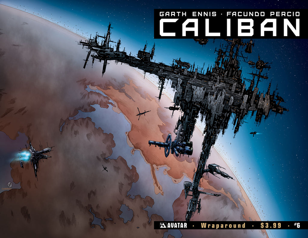 CALIBAN #6 Wraparound