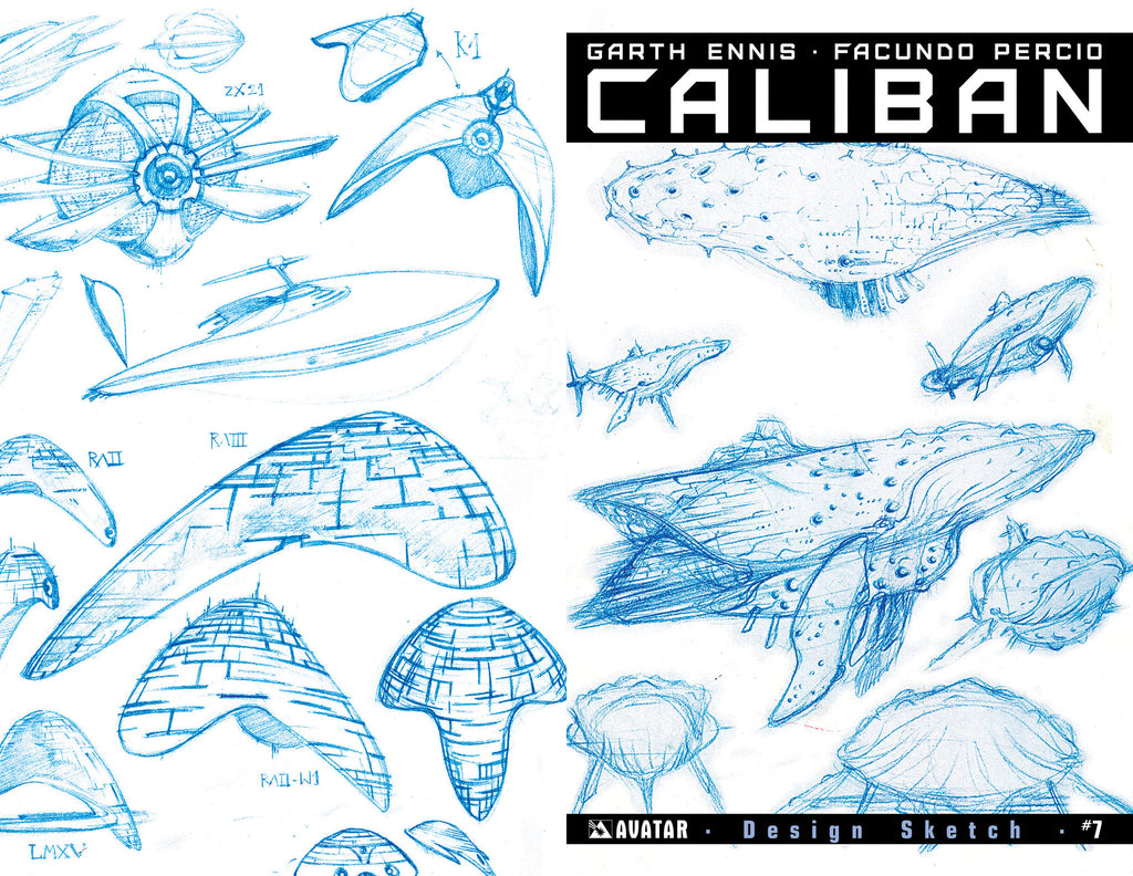 CALIBAN #7 Design Sketch