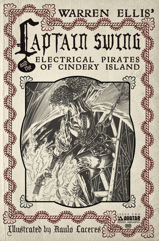 CAPTAIN SWING #2 Penny Dreadful order incentive