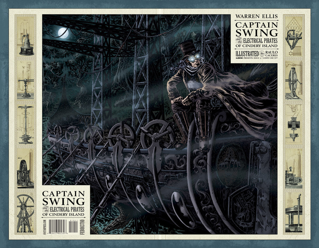 CAPTAIN SWING #2 Wraparound