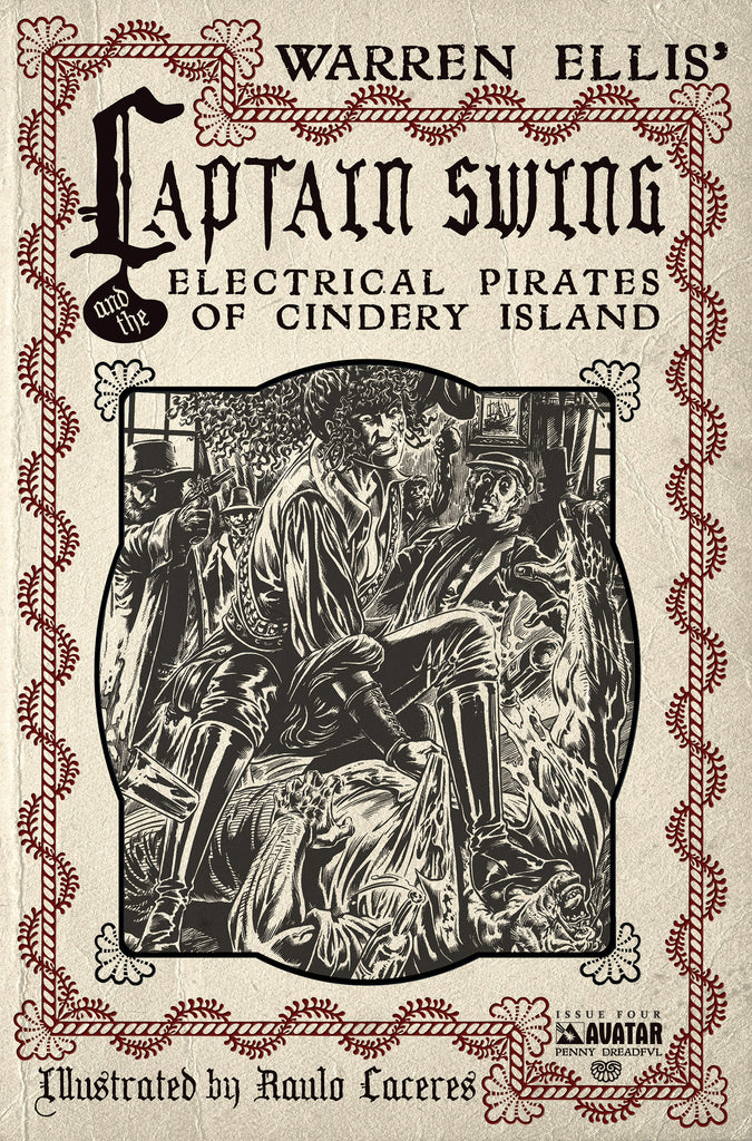 CAPTAIN SWING #4 Penny Dreadful order incentive