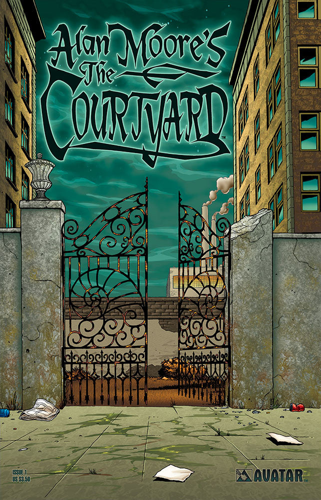 Alan Moore's The Courtyard #1