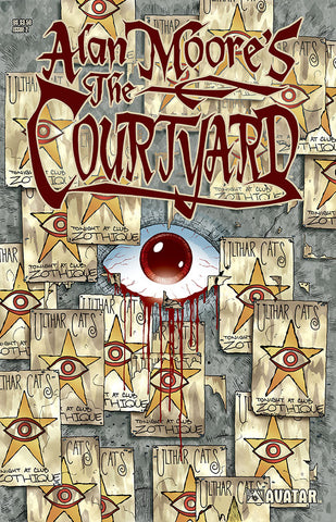 COURTYARD #2 - signed by Alan Moore