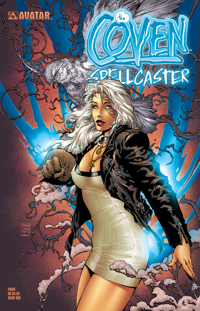 Coven: Spellcaster #1 David Finch Cover