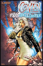 Coven: Spellcaster #1 Finch Cover Ruby Red
