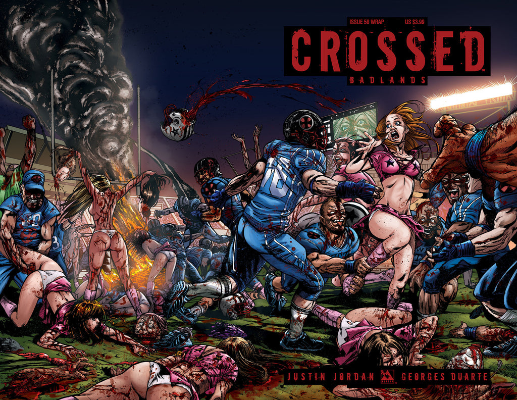 CROSSED: BADLANDS #58 Wraparound