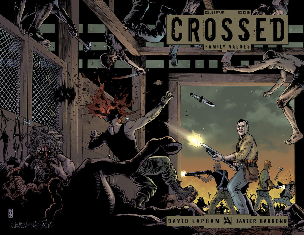 CROSSED: Family Values #1 Wraparound