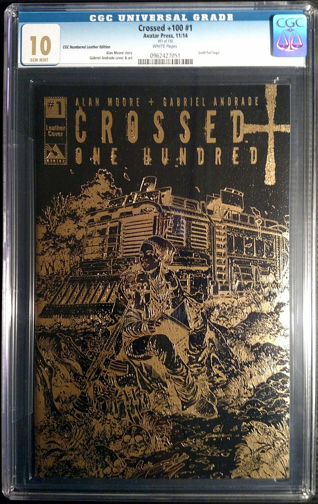 CROSSED +100 #1 Leather CGC 10.0 - Numbered Edition