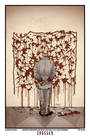 Crossed: Americana Art Print SDCC #6