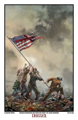 Crossed: Americana Art Print SDCC #7