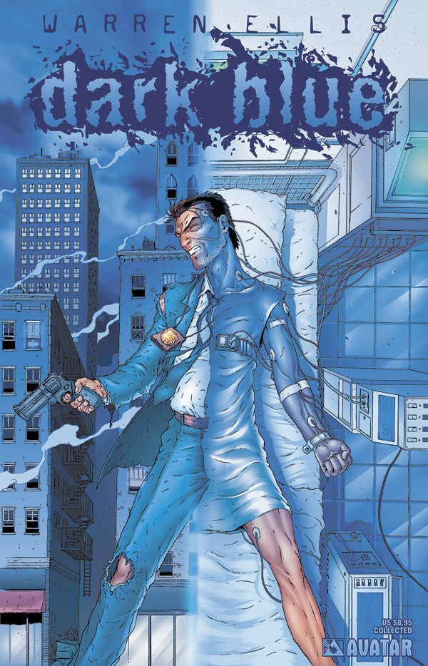 Warren Ellis' DARK BLUE - Digital Copy