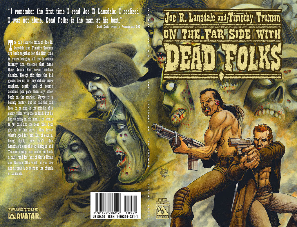 Lansdale and Truman's DEAD FOLKS TPB