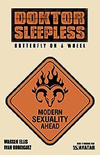 DOKTOR SLEEPLESS #11 Warning Sign Order incentive