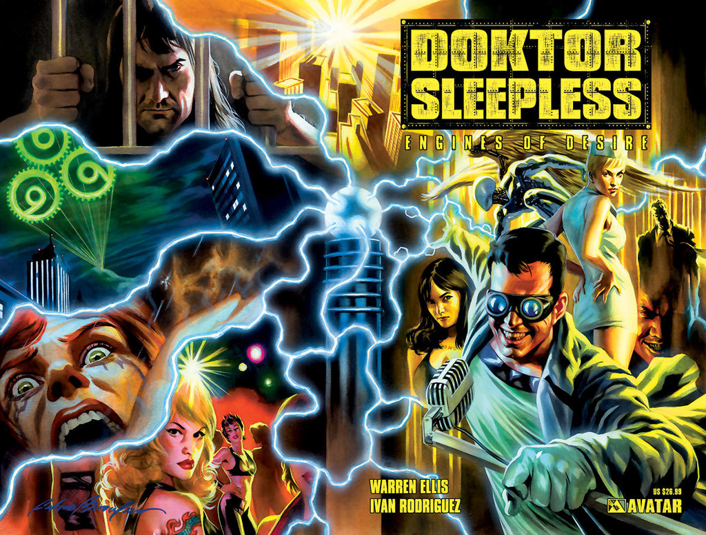 DOKTOR SLEEPLESS Vol 1: Engines of Desire TPB