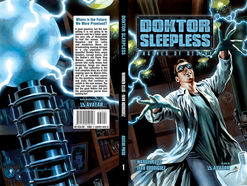 DOKTOR SLEEPLESS Vol 1: Engines of Desire Hardcover