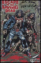 ESCAPE OF THE LIVING DEAD #1 Red Foil Russo Signed