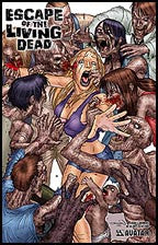 ESCAPE OF THE LIVING DEAD #1 Burrows
