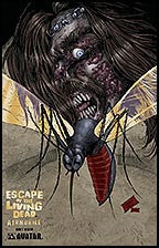 ESCAPE OF THE LIVING DEAD:  Airborne #1 Gold Foil