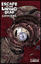 ESCAPE OF THE LIVING DEAD:  Airborne #1 Splatter Stock