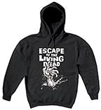 ESCAPE OF THE LIVING DEAD Hoodie -- Size L