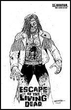 ESCAPE OF THE LIVING DEAD #1 Leather