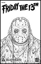 FRIDAY THE 13TH: Bloodbath #1 Leather