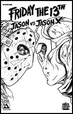 FRIDAY THE 13TH: Jason vs Jason X #1 Nano-Steel