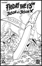 FRIDAY THE 13TH: Jason vs Jason X #2 Nano-Steel
