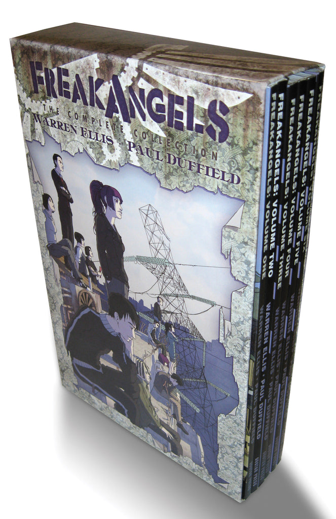 FREAKANGELS COMPLETE COLLECTION SLIPCASE ED