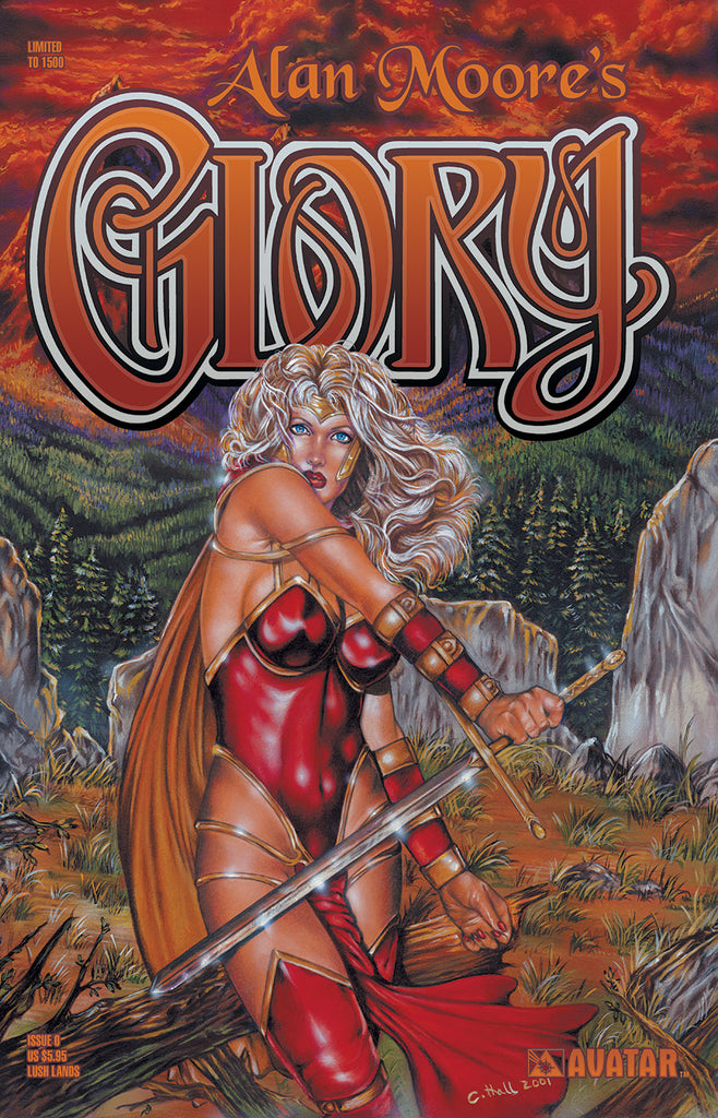 Alan Moore's Glory #0 Lush Lands Ed.