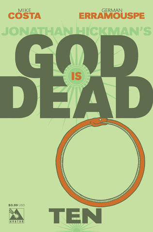 GOD IS DEAD #10 - Digital Copy