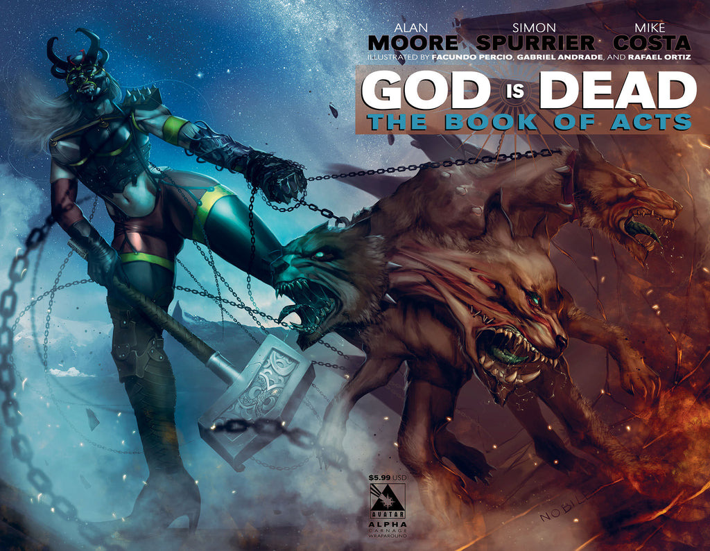 GOD IS DEAD: The Book of Acts #Alpha - Carnage Wraparound cover