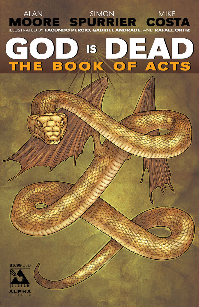 GOD IS DEAD: The Book of Acts #Alpha - Iconic cover