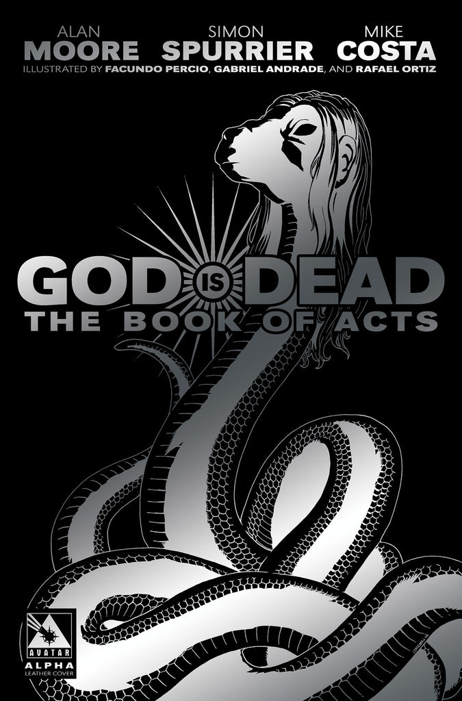 GOD IS DEAD: The Book of Acts #Alpha - Leather cover