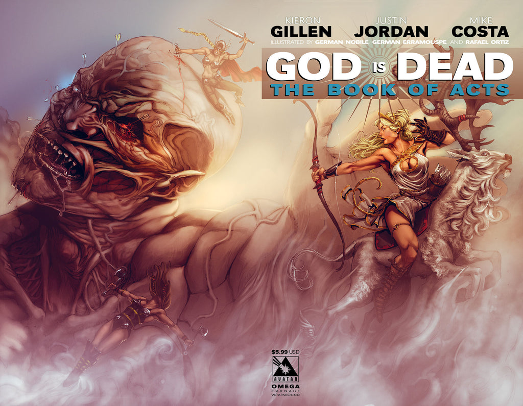 GOD IS DEAD: The Book of Acts #Omega - Carnage Wraparound cover