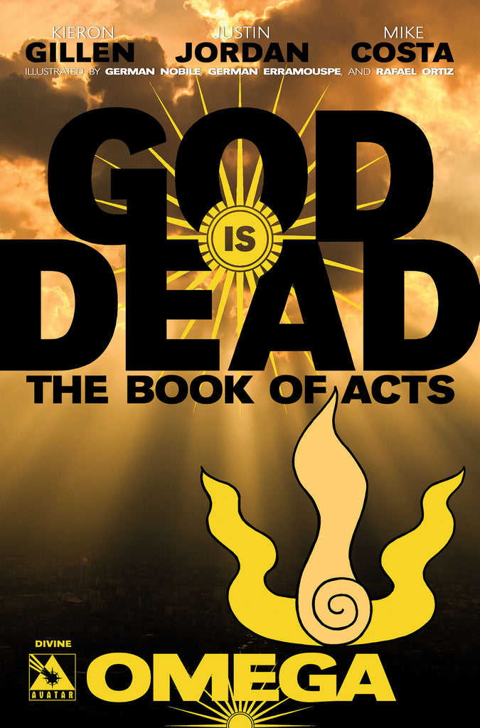 GOD IS DEAD: The Book of Acts #Omega - Divine cover