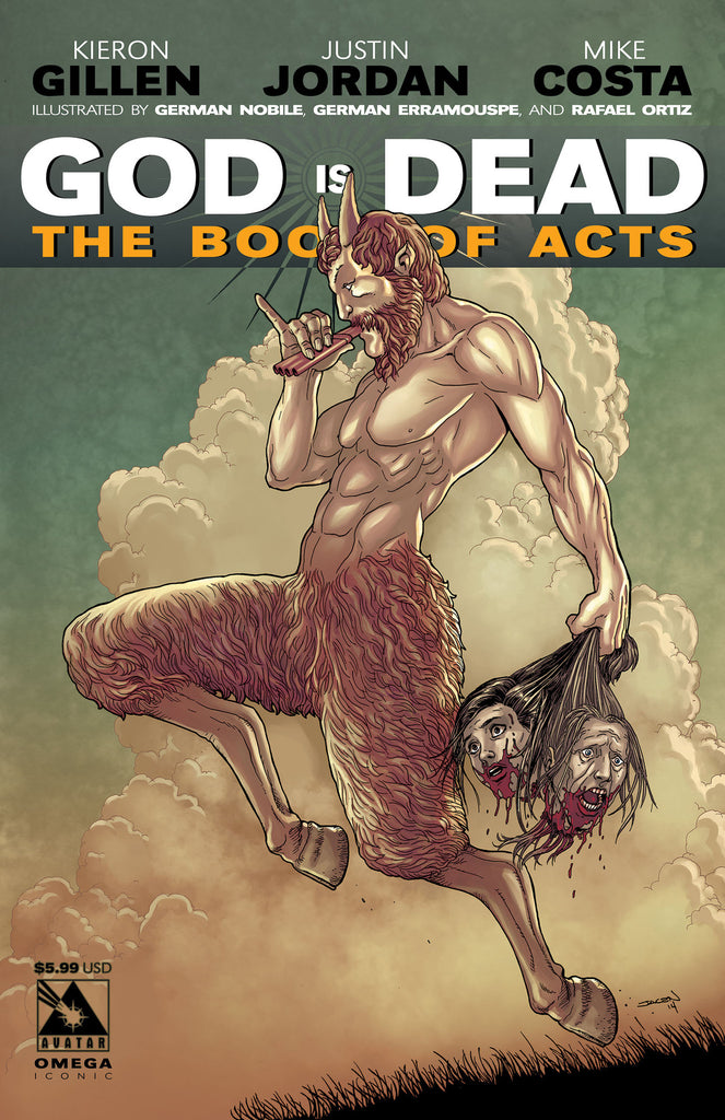GOD IS DEAD: The Book of Acts #Omega - Iconic cover