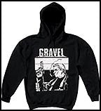 GRAVEL Hoodie -- Size L