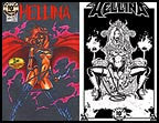 Hellina #1 Platinum  (Lightning) - 10th Anniversary Print Set
