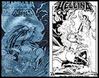 Hellina / Nira X  #1  (Lightning) Plat 10th Ann Print Set