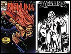 Hellina: Fury of Hellina #1  (Lightning) - 10th Ann. Print Set