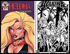 Hellina: Kiss of Death #1  (Lightning) - 10th Ann. Print Set