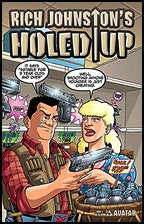 Rich Johnston's HOLED UP #1