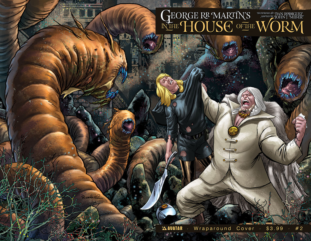 IN THE HOUSE OF THE WORM #2 Wraparound