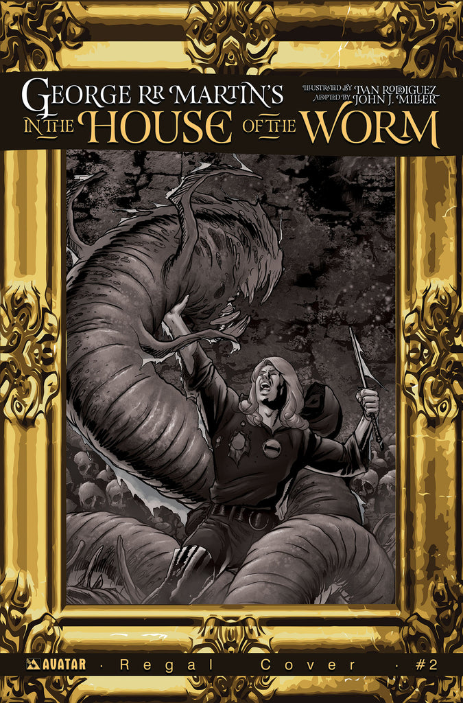 IN THE HOUSE OF THE WORM #3 Regal