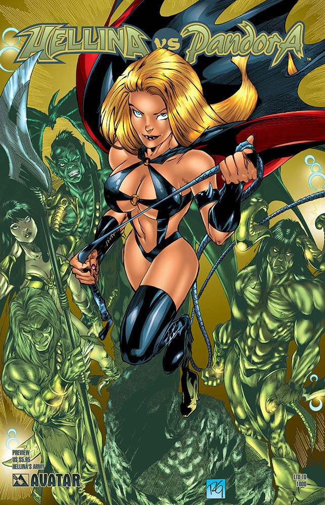 HELLINA vs PANDORA preview Hellina's Army Ed.