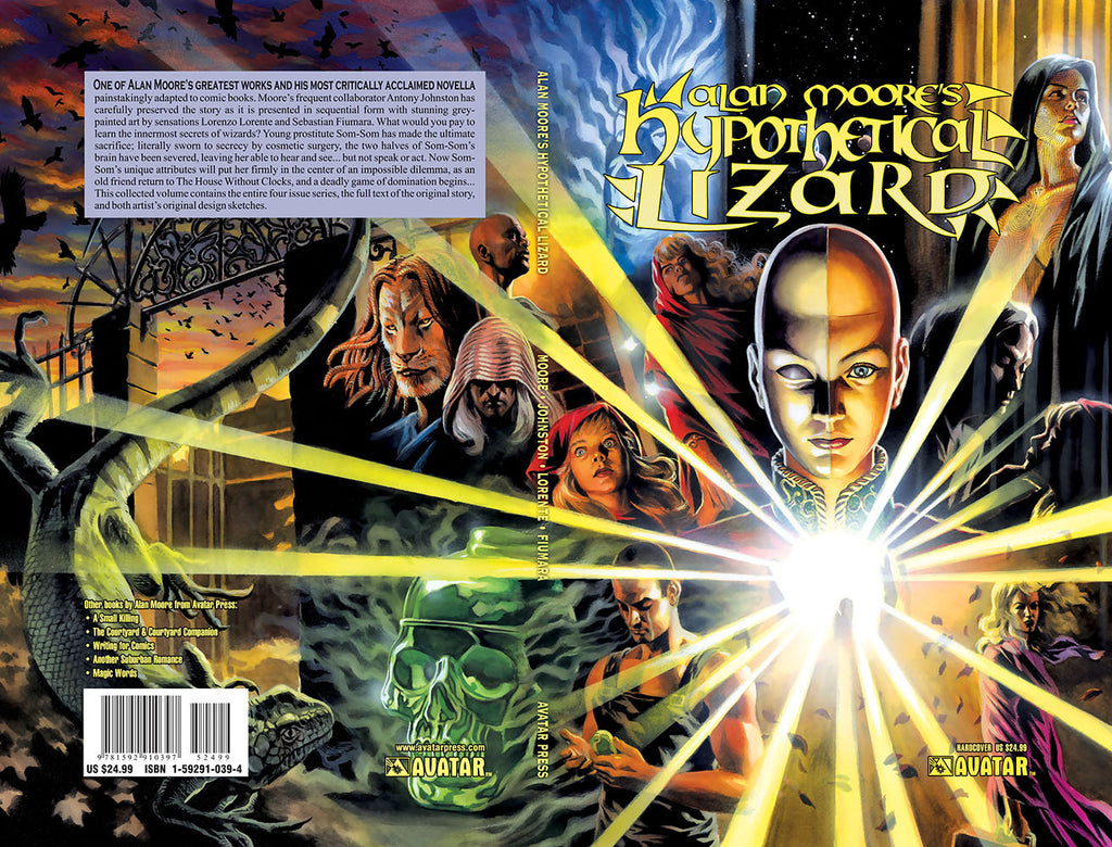 Alan Moore HYPOTHETICAL LIZARD Hardcover